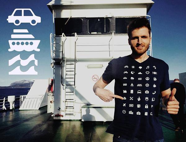iconspeak traveler tshirts