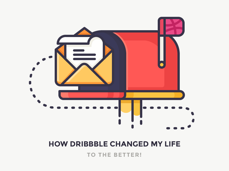 dribbble mailbox