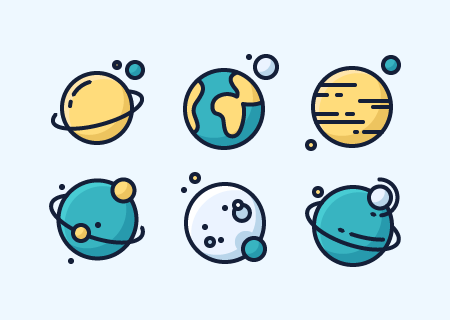 16 Free Space Icons